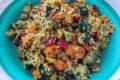 Quinoa con verdure e curry
