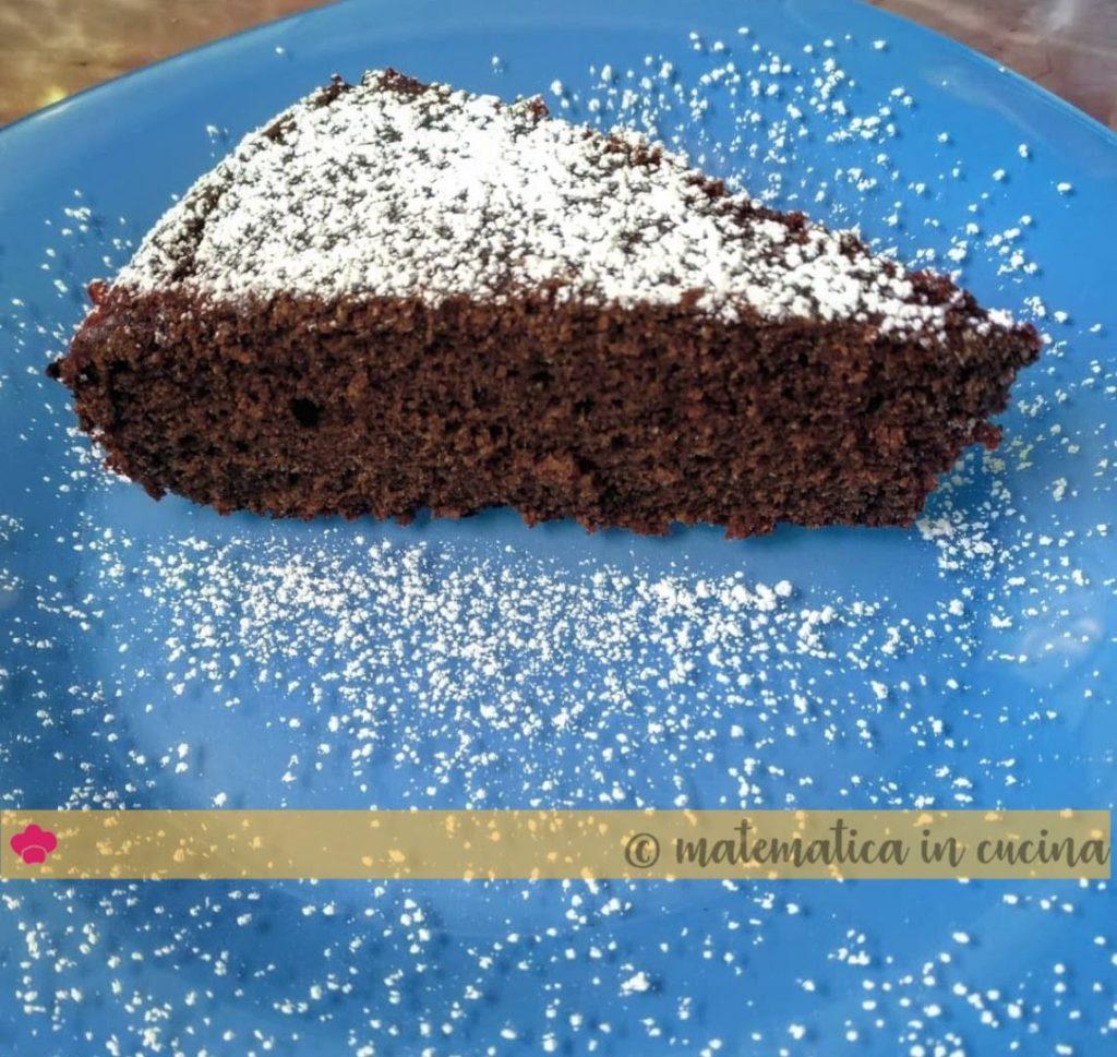 Torta di grano saraceno, cacao e cannella