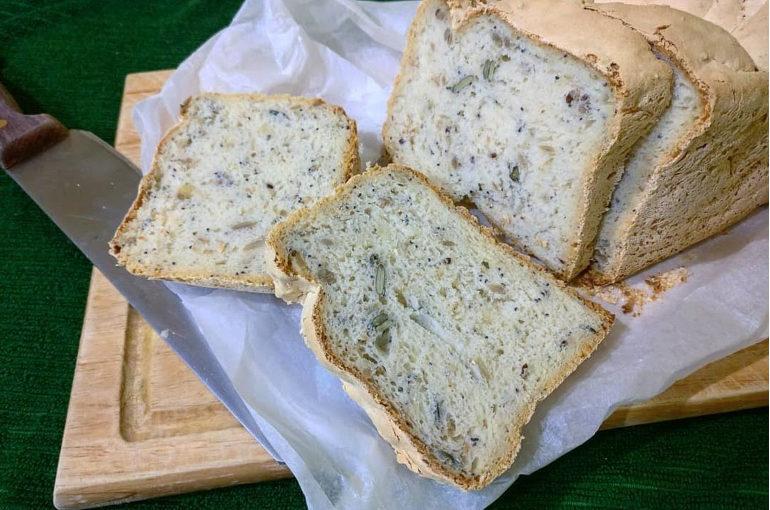 Pane senza glutine ai semi