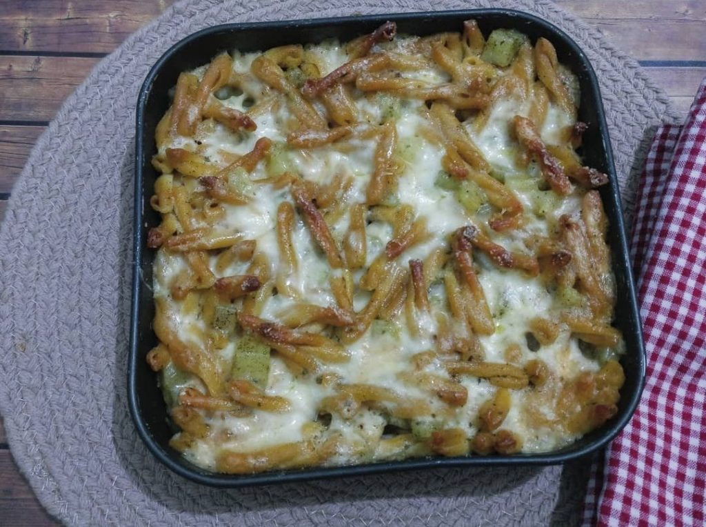 Pasta senza glutine con patate e provola