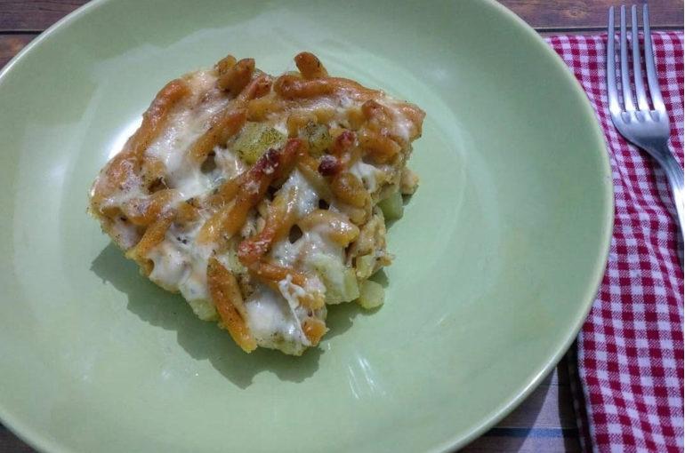 Pasta patate e provola al forno e senza glutine