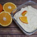 Crema all'arancia e mascarpone
