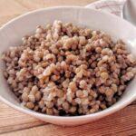 Zuppa di grano saraceno e lenticchie