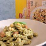 Fusilli senza glutine con pesto di ceci al curry