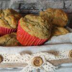 Muffin vegetariani al pesto di basilico e noci
